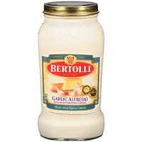 Bertolli Garlic Alfredo Sauce Food Product Image