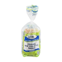 Glutino Wheat & Gluten Free Original New York Style Bagels - 5 CT Food Product Image
