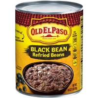 Old El Paso Refried Beans Black Bean Food Product Image