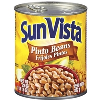 Sun Vista Pinto Beans Food Product Image