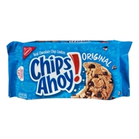 Nabisco Chips Ahoy! Chocolate Chip Cookies Food Product Image