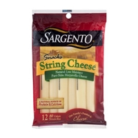 Sargento Snacks String Cheese - 12 CT Food Product Image