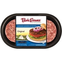 Bob Evans Sausage Patty  Food Product Image