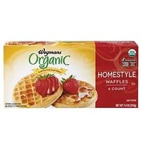 Wegmans Frozen Pancakes & Waffles Homestyle  Waffles Food Product Image