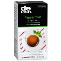 Good & Delish Herbal Tea Bags Peppermint Food Product Image