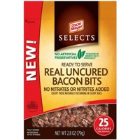 Oscar Mayer Selects Real Uncured Bacon Bits Food Product Image