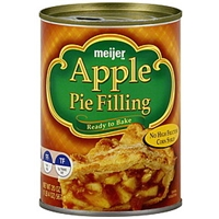 Meijer Pie Filling Apple Food Product Image