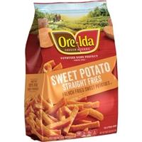 Ore-Ida Sweet Potato French Fries Straight Food Product Image