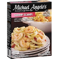 Michael Angelo's Frozen Dinner Shrimp Scampi Food Product Image
