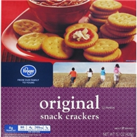 Kroger Snack Crackers Food Product Image