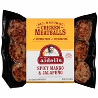 Aidells Chicken Meatballs Spicy Mango & Jalapeno Product Image
