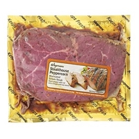 Wegmans Beef Sirloin Steak, Steakhouse Peppercorn Marinade Food Product Image