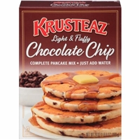 Krusteaz Complete Pancake Mix Chocolate Chip Food Product Image