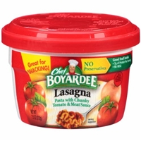 Chef Boyardee Lasagna Food Product Image