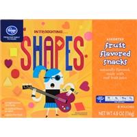Kroger Shapes Fruit Snacks Food Product Image