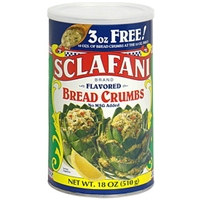 Sclafani Flavored Bread Crumbs Food Product Image