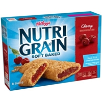 Kellogg's Nutri-Grain Cherry Cereal Bars - 8 Ct Food Product Image