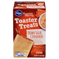 Kroger Frosted Toaster Treats - Brown Sugar Cinnamon Food Product Image