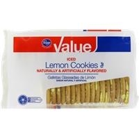 Kroger Value Iced Lemon Cookies Food Product Image