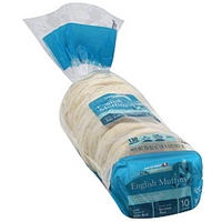 Safeway English Muffins Sourdough Food Product Image