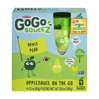 GoGo Squeez Applesauce On The Go Apple Pear - 4 CT Food Product Image
