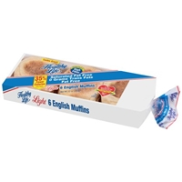 Healthy Life English Muffins Light - 6 CT Food Product Image