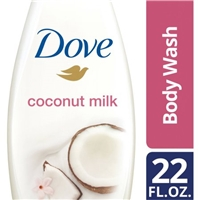 Dove Purely Pampering Nourishing Body Wash Coconut Milk with Jasmine Petals Food Product Image