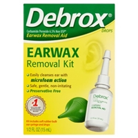 Debrox Earwax Removal Kit Food Product Image
