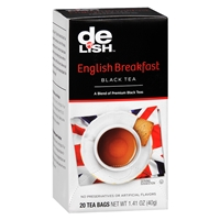 Good & Delish Black Tea Bags English Breakfast, 20 pk Food Product Image