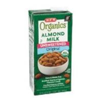 H-E-B Organics Almond Milk, Unsweetened Original Food Product Image