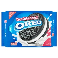 Nabisco Oreo Double Stuf Chocolate Sandwich Cookies Food Product Image