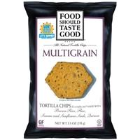 Food Should Taste Good Multigrain Tortilla Chips Food Product Image