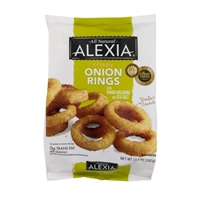 Alexia Crispy Onion Rings Panko Breading and Sea Salt Food Product Image