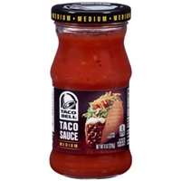 Taco Bell Medium Taco Sauce Food Product Image