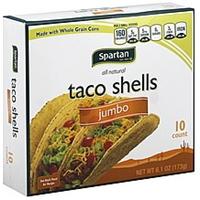 Spartan Taco Shells Jumbo Food Product Image