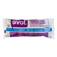 evol. Lean & Fit Burrito Sausage, Egg & Smoked Gouda Food Product Image