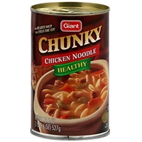 Ahold Chunky Chicken Noodle Soup Food Product Image