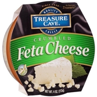Treasure Cave Feta Cheese Crumbled Food Product Image