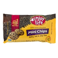 Enjoy Life Semi-Sweet Chocolate Mini Chips Food Product Image