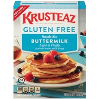 Krusteaz Gluten Free Buttermilk Pancake Mix Food Product Image