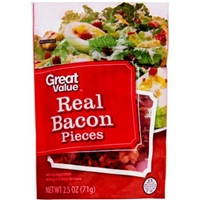 Great Value Real Bacon Pieces Food Product Image