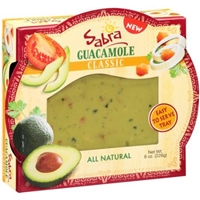 Sabra Guacamole Classic Food Product Image
