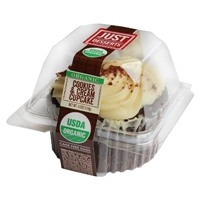 Just Desserts Cookies & Crme Cupcake 4.2 oz Food Product Image