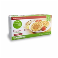 Simple Truth Gluten Free Homestyle Waffles Food Product Image