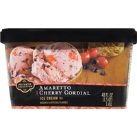 Private Selection Amaretto Cherry Cordial Ice Cream Food Product Image