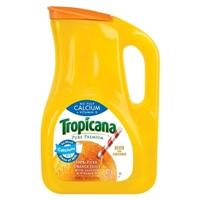 Tropicana Pure Premium No Pulp Calcium + Vitamin D 100 % Pure Orange Juice 89 fl oz Food Product Image