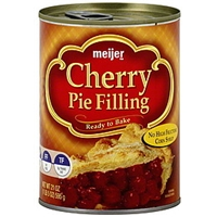 Meijer Pie Filling Cherry Food Product Image