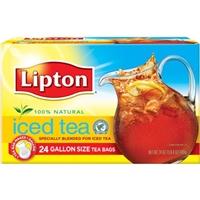 Lipton Gallon Size Black Iced Tea Bags