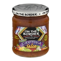 On The Border Cantina Salsa Lime & Cilantro Mild Food Product Image