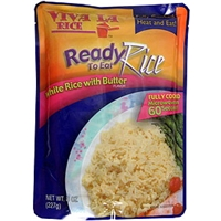 Viva La Rice Ready To Eat Rice White Rice With Butter Flavor Food Product Image